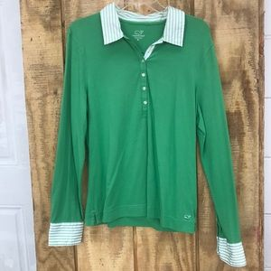 Vineyard Vines extra large green top